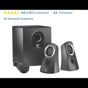 Other - 🛑computer Logitech speakers.